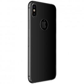 Film verre trempé arrière Iphone X noir