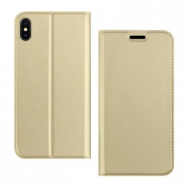 Etui pochette porte cartes pour Iphone XR or