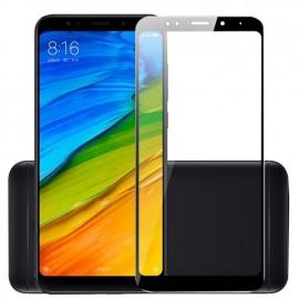 Film verre trempé intégral pour Xiaomi Redmi 5 Plus noir
