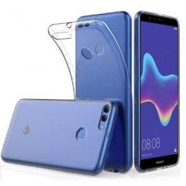 Coque silicone transparente pour Huawei Y9 2018