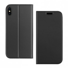 Etui pochette porte cartes pour Iphone XR noire