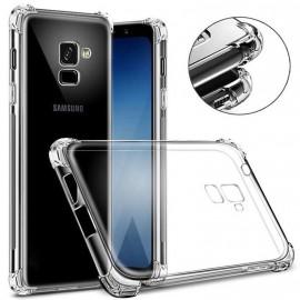 Coque silicone transparente antichoc pour Samsung J6 Plus
