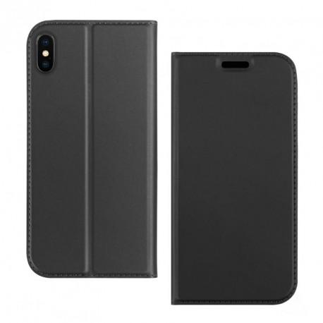 Etui pochette porte cartes pour Samsung J4 noire