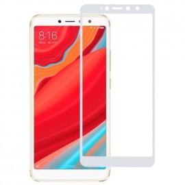 Film verre trempé pour Xiaomi Redmi S2 intégral blanc