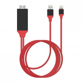 Cable lightning HDMI iPhone et iPad