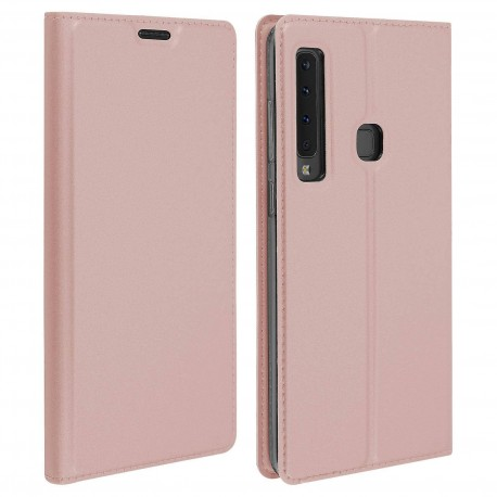 Etui pochette porte cartes pour Samsung Note 9 rose or