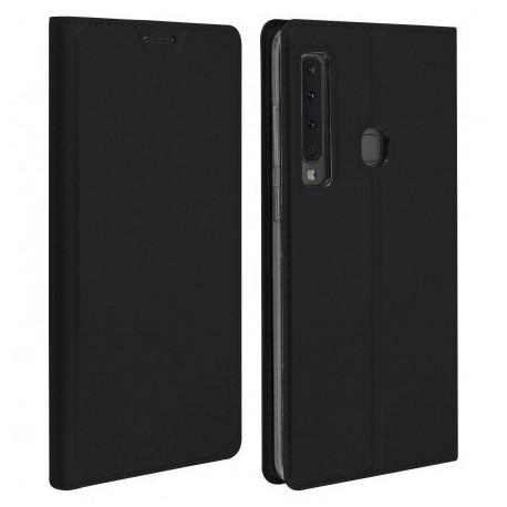 Etui pochette porte cartes pour Samsung A9 2018 noire