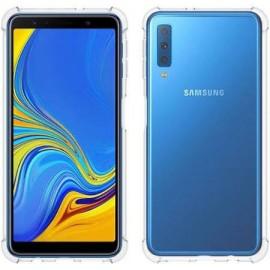 Coque silicone transparente antichoc pour Samsung A7 2018
