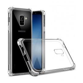 Coque silicone transparente antichoc pour  Samsung A6 Plus