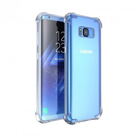 Coque silicone transparente antichoc pour Samsung S8