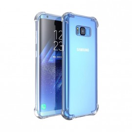 Coque silicone transparente antichoc pour Samsung S8 Plus