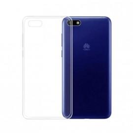 Coque silicone transparente pour Huawei Y5 2018