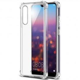 Coque silicone transparente antichoc pour Huawei P20 Lite