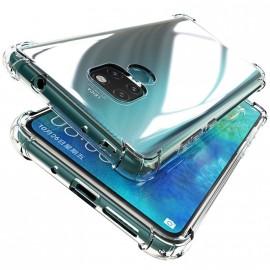 Coque silicone transparente antichoc pour Huawei Mate 20