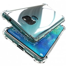 Coque silicone transparente antichoc pour Huawei Mate 20 Lite