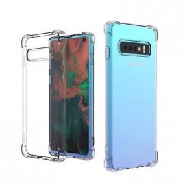 Coque silicone transparente antichoc pour Samsung S10 Plus
