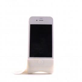 Haut parleur Horn et support pour Iphone 4 + film protection ecran