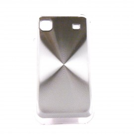 Coque metal Samsung I9000 Galaxy S + film protection ecran offert