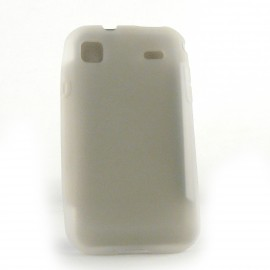 Coque silicone pour Samsung I9000 Galaxy S + film protection ecran offert