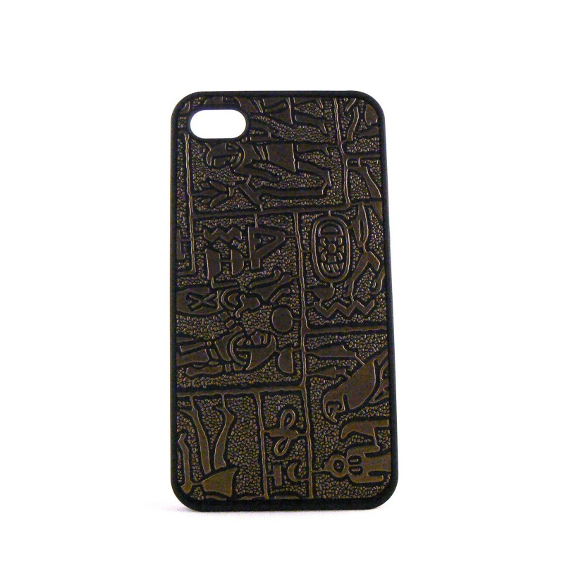 coque motif hierogliphe pour iphone 4 film protection. Black Bedroom Furniture Sets. Home Design Ideas