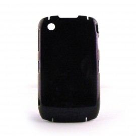 Coque rigide paillettes violettes Blackberry 8520 curve+ film protection ecran offert