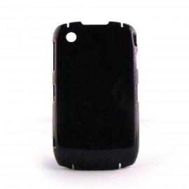 Coque rigide paillettes violettes Blackberry 8520 curve+ film protection ecran offert
