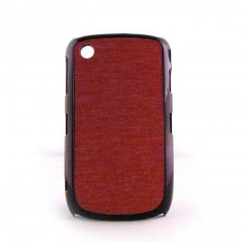 Coque rose paillettes argent contour effet metal Blackberry 8520 curve+ film protection ecran offert