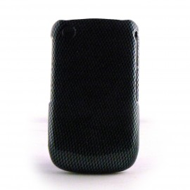 Coque en 2 parties semi-integrale damier noir et gris Blackberry 8520 curve+ film protection ecran offert