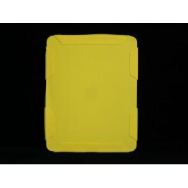 Coque Etui souple en silicone nid d'abeille pour Ipad 1 + film protection ecran