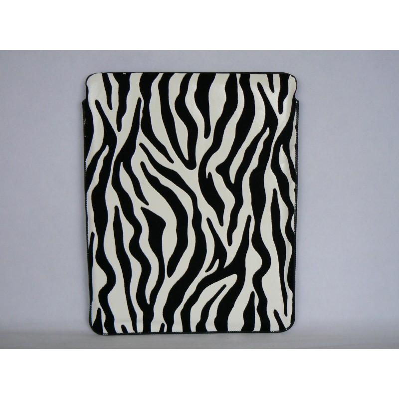 etui souple en velours avec un motif zebre pour ipad 2 et. Black Bedroom Furniture Sets. Home Design Ideas