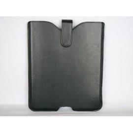 Etui en simili-cuir noir pour Ipad 2 et Ipad 1+ film protection ecran offert