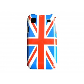Coque drapeau UK/Angleterre Samsung I9000 Galaxy S  + film protection ecran offert