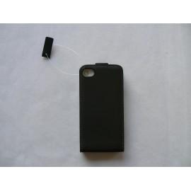 Pochette cuir pour Iphone 4 + film protection écran