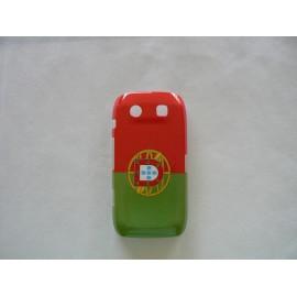 Coque drapeau Portugal pour Blackberry Torch 9860/9850 + film protection ecran offert
