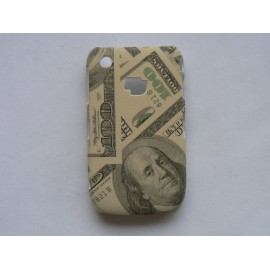 Coque Blackberry Curve 8520/9300 mate 100 dollars US + film protection écran