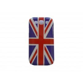 Coque pour Samsung I9300 Galaxy S3 rigide drapeau UK/Angleterre + film protection écran offert