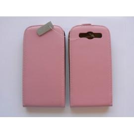 Pochette Etui cuir rose pour Samsung I9300 Galaxy S3 + film protection écran