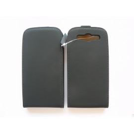 Pochette Etui cuir noir Samsung I9300 Galaxy S3 + film protection écran