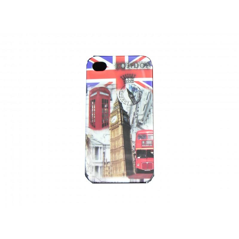 coque pour iphone 4 drapeau uk angleterre big ben film. Black Bedroom Furniture Sets. Home Design Ideas