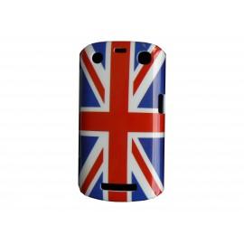 Coque rigide drapeau Angleterre/UK pour Blackberry Curve 9350/9360/9370 + film protection écran offert