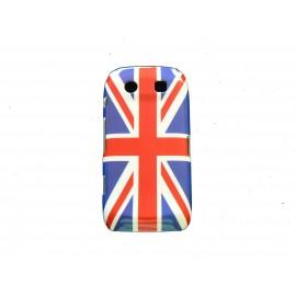 Coque drapeau UK/Angleterre pour Blackberry Torch 9860/9850 + film protection ecran offert