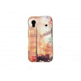 Coque pour Samsung S5830 Galaxy Ace carte postale Londres Big Ben + film protection écran offert