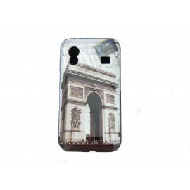 Coque pour Samsung S5830 Galaxy Ace carte postale Paris Arc de Triomphe + film protection écran offert