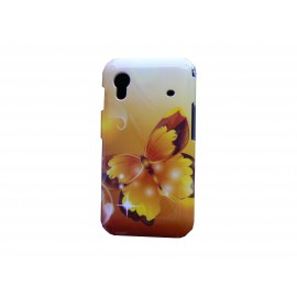 Coque pour Samsung S5830 Galaxy Ace papillon + film protection ecran offert