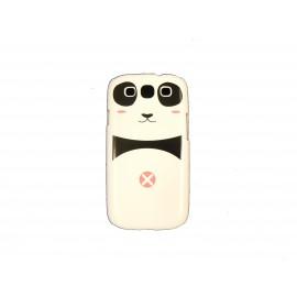 Coque pour Samsung I9300 Galaxy S3 panda rose+ film protection écran offert