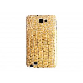 Coque aspect peau de serpent pour Galaxy Note I9220/N7000  + film protection écran offert