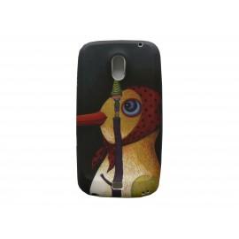 Coque pour Samsung I9250 Galaxy Nexus prime silicone oiseau + film protection écran offert