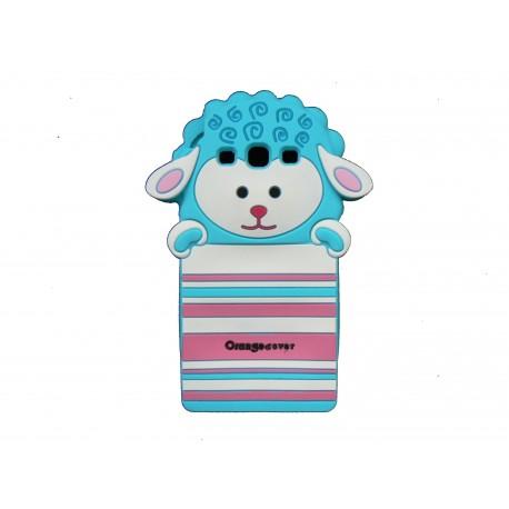 Coque pour Samsung I9300 Galaxy S3 mouton bleu + film protection écran offert