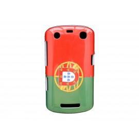 Coque rigide drapeau Portugal pour Blackberry Curve 9350/9360/9370 + film protection écran offert