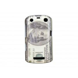 Coque 100 dollars pour Blackberry Curve 9350/9360/9370 + film protection écran offert